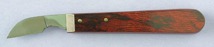 Wayne barton large chip carving knife wood