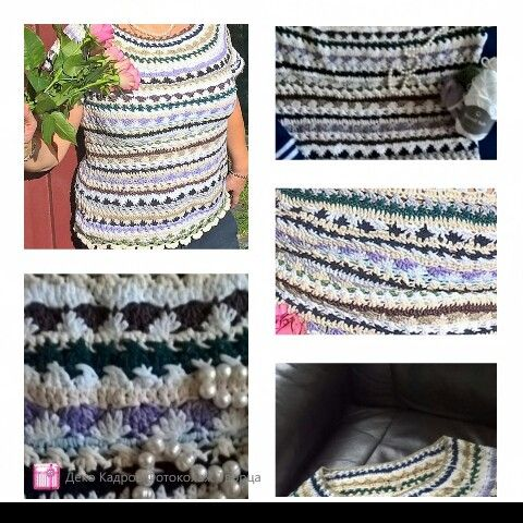 "Crochet dress by Vanessa Montoro, vestido ""sienna"". 100% coton. Job by me"