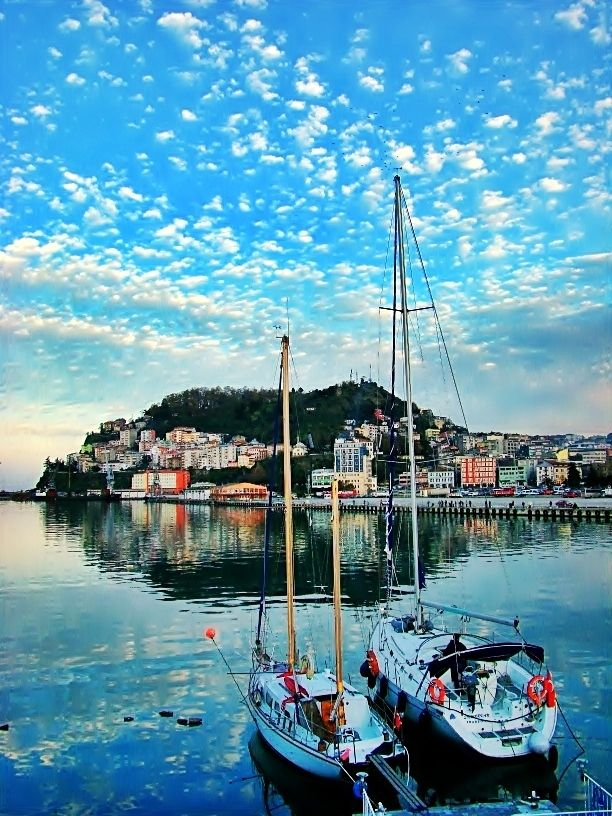 Giresun Harbor,Turkey  / By Esat Ferruh Gürsel