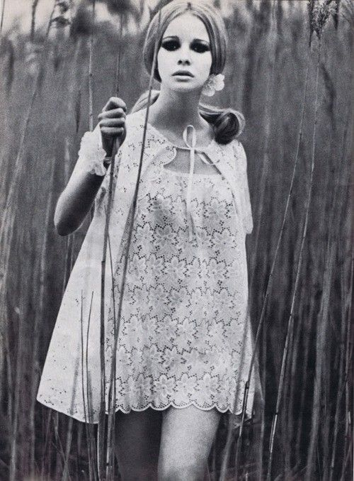 Fashion photography by Patrick Hunt for Vogue UK, June 1969.