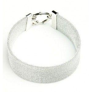Srebrna bransoletka. Biżuteria włoska rodowana. Ekskluzywna kolekcja AnKa!