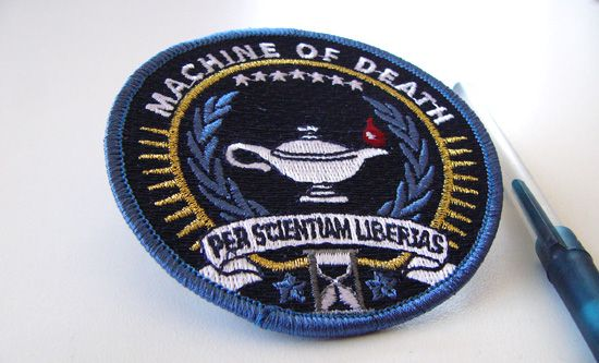 TopatoCo: Machine of Death Embroidered Patch