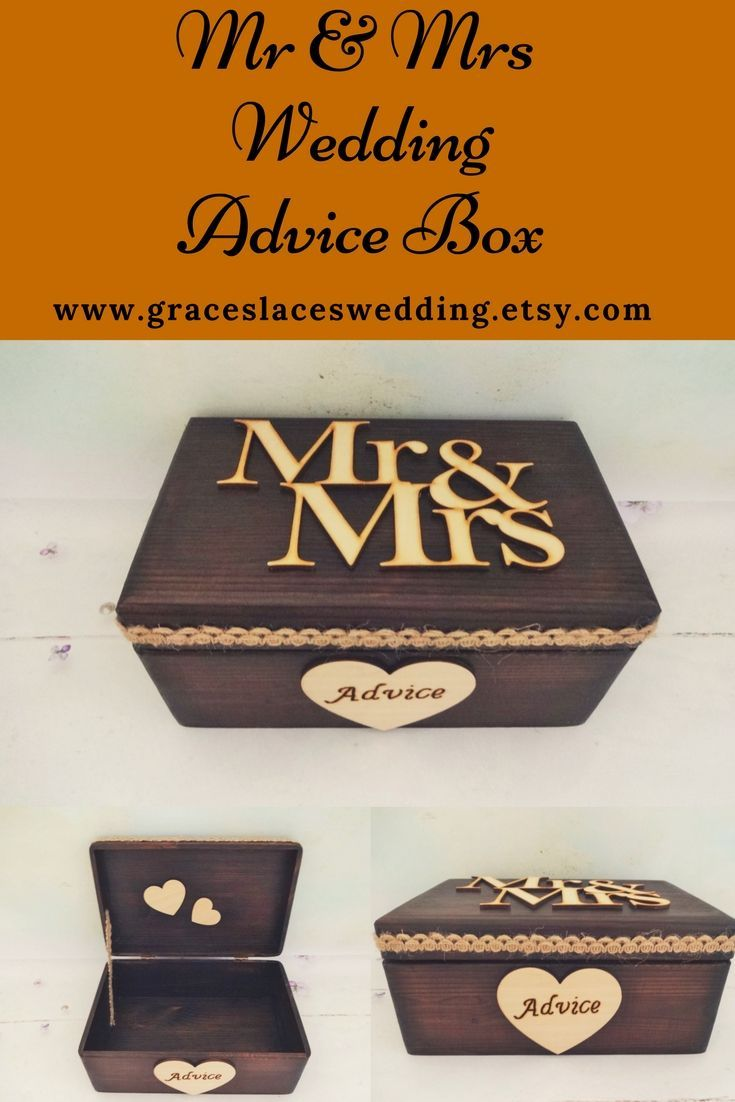53 Best Wedding Advice And Cards Boxes Images On Pinterest Wedding