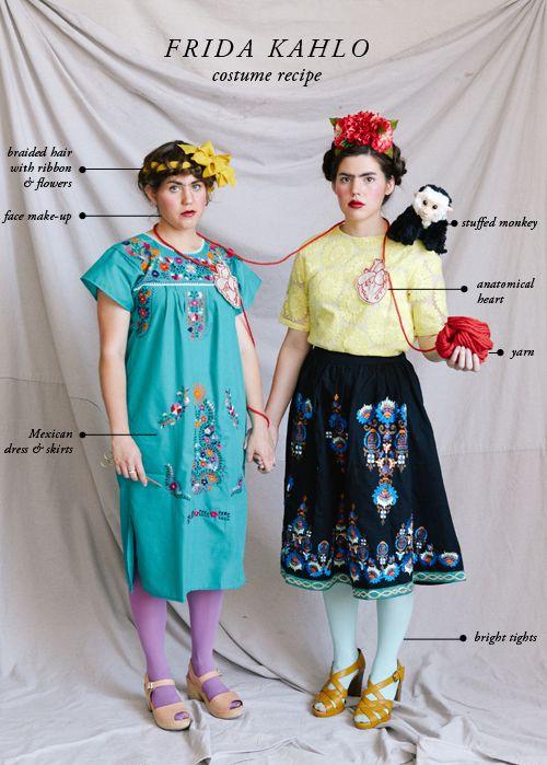 Frida Kahlo receta traje