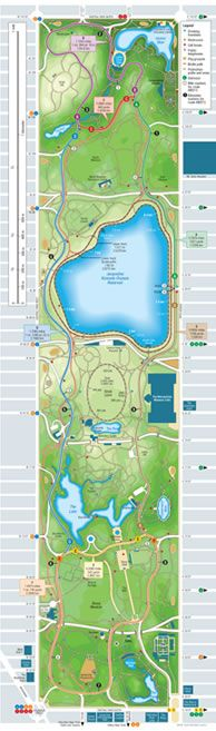 runners map of central park