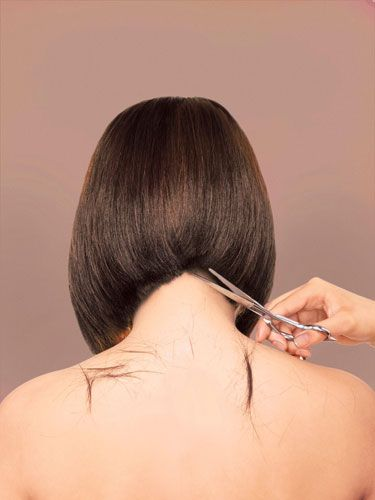 How to trim a decade - with nothing but scissors! Haircuts that work wonders. Watch our video to get more great tips for taking 10 years off your hair.