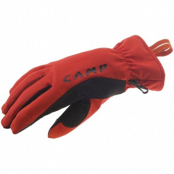 Camp Geko Touchsú ľahké a priedušné rukavice so špeciálnymi ukončeniami prstov, ktoré fungujú smobilmi a tabletmi.