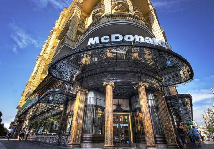 The McDonald's on Spanish Broadway (Gran Via) – Madrid, Spain