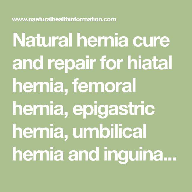 how to fix umbilical hernia naturally
