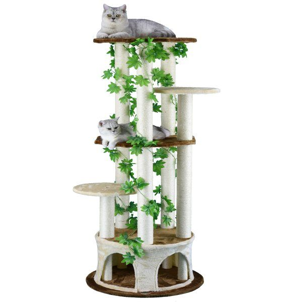 61 Cat Tree Cat Tree Tree Furniture Pets