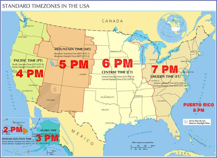 Eastern Standard Time To Central Time