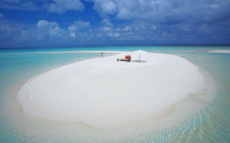 Wallpaper Vacanta Romantica In Maldive