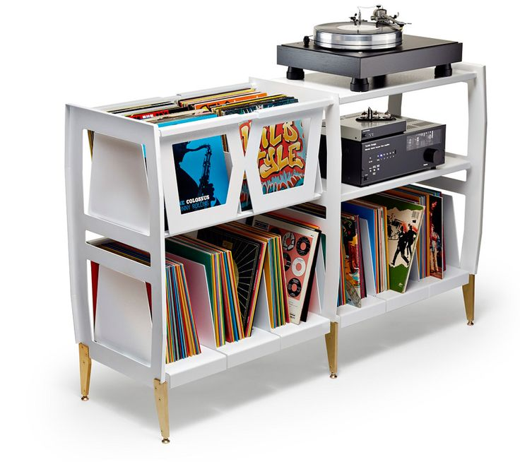 Wax Rax apresenta na ICFF mobiliário para toca-discos de vinil #habitusbrasil #design #ICFF