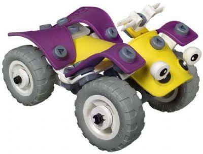 Een Meccano doos Build & Play bestaande uit 99 flexibele onderdelen om b.v. een quad, helicopter e.d. van te bouwen. Bij dit technisch speelgoed is bijgevoegd een instructie om 4 diverse modelen te bouwen. Doordat in deze doos diverse flexibele kunststof onderdelen kunnen vele voertuigen worden gebouwd. Deze meccano doos is geschikt voor kinderen vanaf …