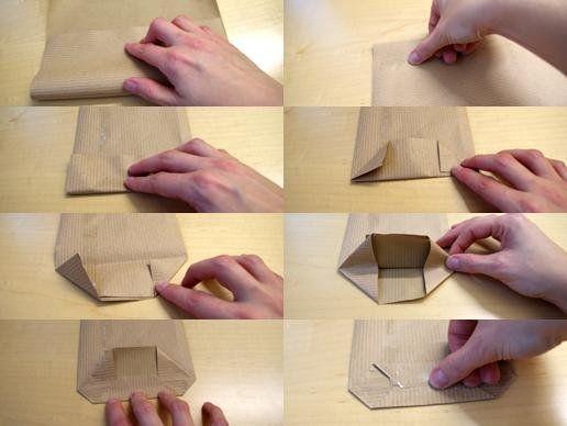 DIY Adventskalender-papiertüten