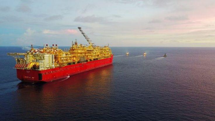 Video: Shell's Prelude FLNG arrives in Australian waters