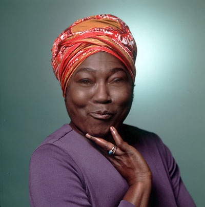 Esther Rolle, dancer, singer, and TV & theater actress. She was perhaps best known for her portrayal of Florida Evans on Good Times.