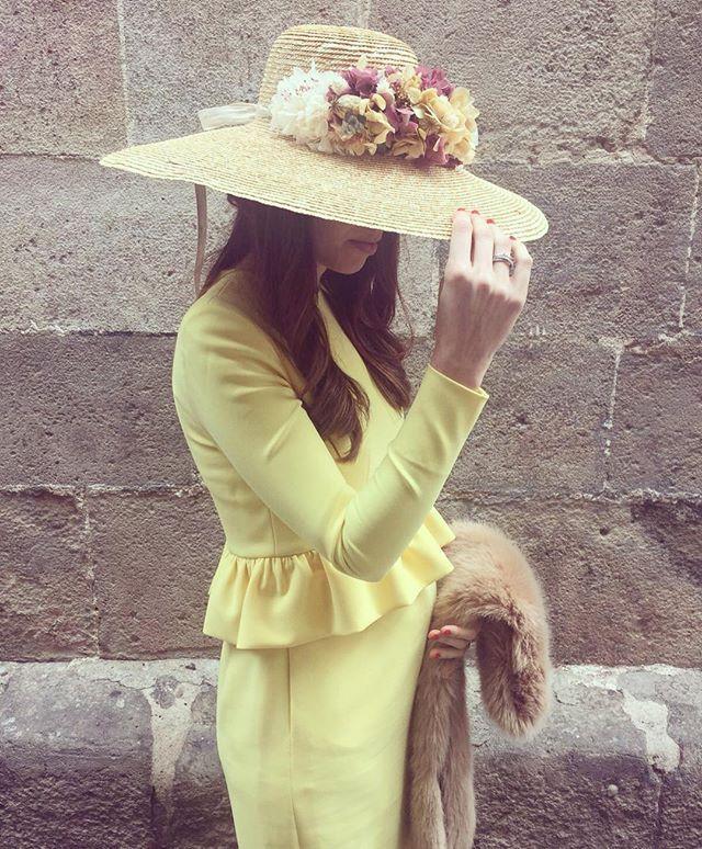 #bodorrio #isabelyantonio2016 #boda #invitada #vestido #ootd #pamela #volantes #wedding #dress