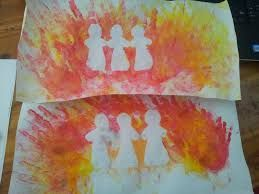 Image result for Shadrach, Meshach, and Abednego crafts add an angel