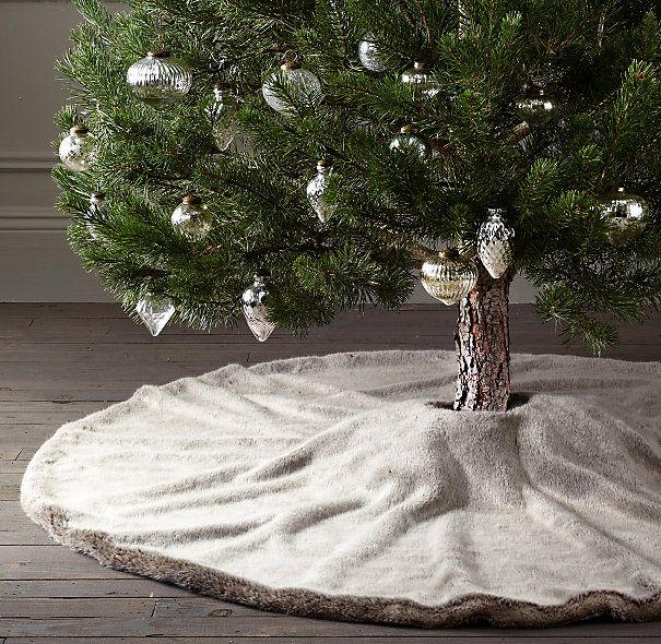 Best 25+ Faux Fur Tree Skirt Ideas On Pinterest