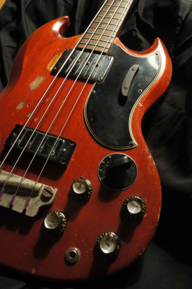 Jack Bruce`s bass  --  Gibson, EB-3, 1966