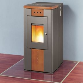 Stove pellet stove and shops on pinterest - Pellet stoves for small spaces set ...