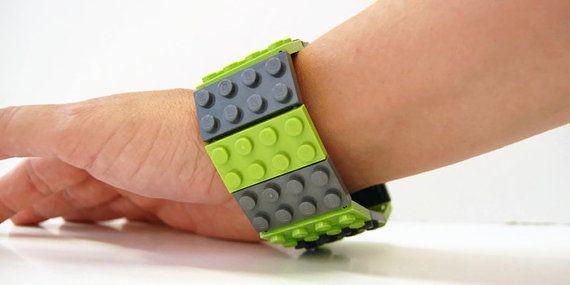 Unisex Bracelet made with LEGO® Bricks - Supernatural Cosplay - Modern Bracelet - Cuff Bracelet - LEGO® Jewelry -Geeky Bracelet -LEGO® Gift