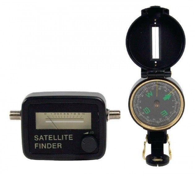Satellitt  signalstyrke - måler | Satelittservice tilbyr bla. HDTV, DVD, hjemmekino, parabol, data, satelittutstyr
