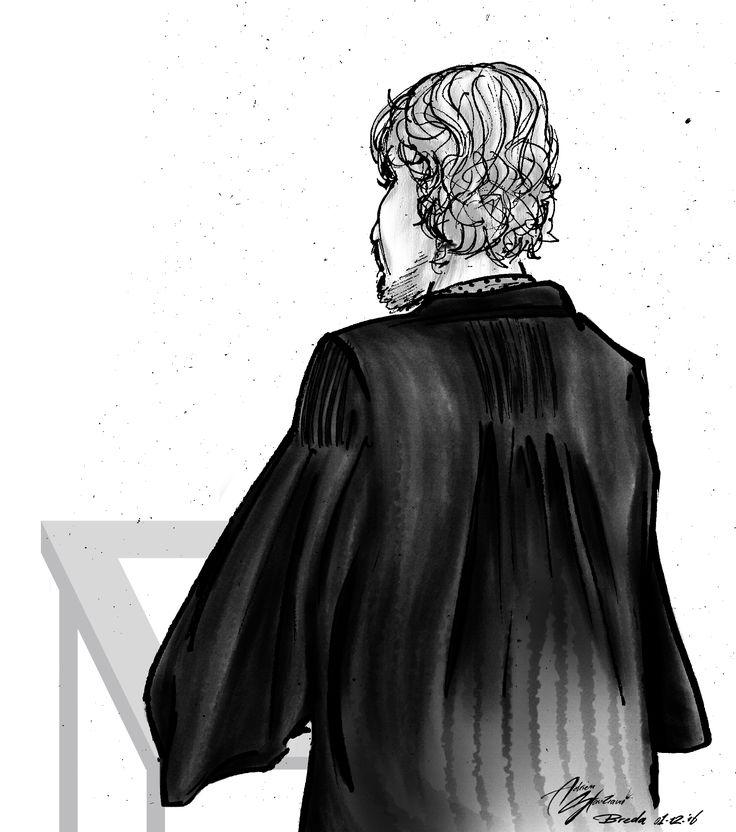 Courtroom illustration, Breda [01-12-2016]