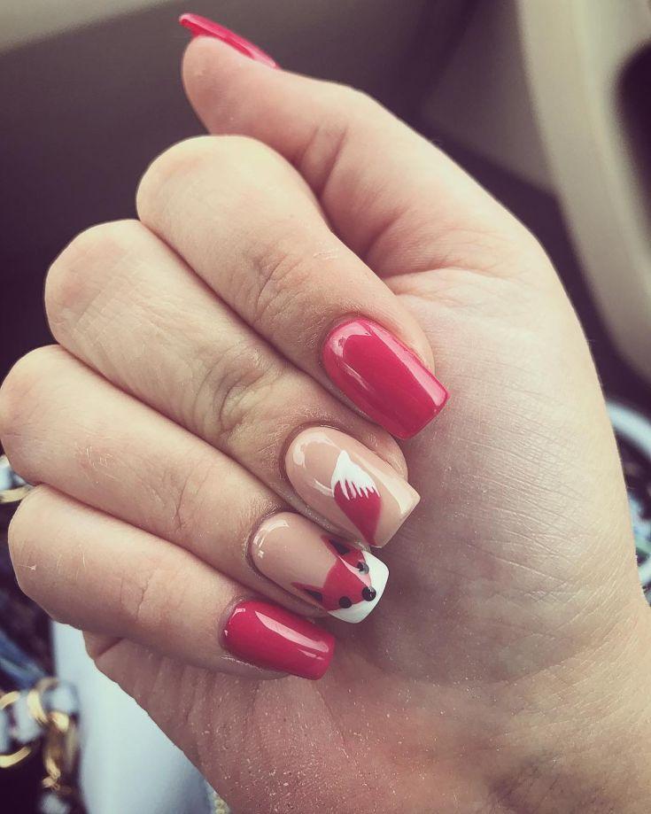#nails #nailart #fakenails #gelnails #fox #foxnails