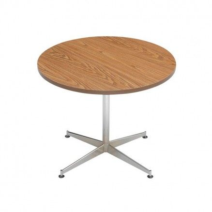 Global CAR Round cafeteria or lunch room table.  Available for online purchase at Ugoburo.ca