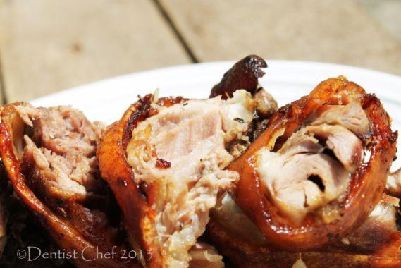 carved schweineshaxe crispy pork knuckle roasted recipe