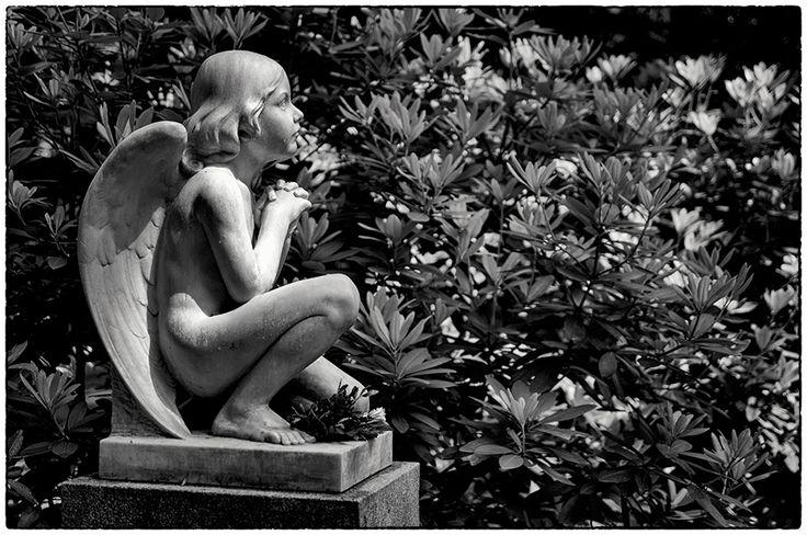 Grabmal Pini/Stäger (1912) · Friedhof Ohlsdorf #friedhof #ohlsdorf #1912 #kindesengel #marmor