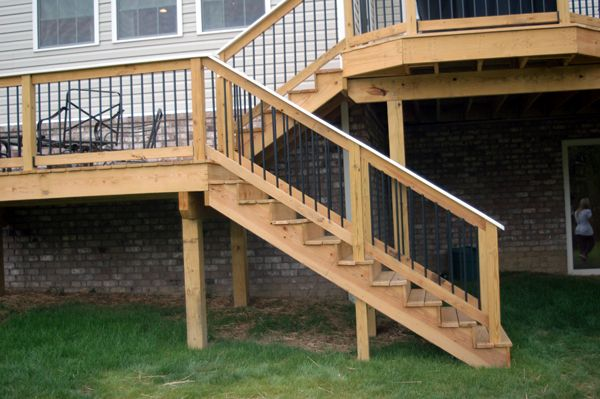 156 best images about deck build on pinterest wood decks vinyl