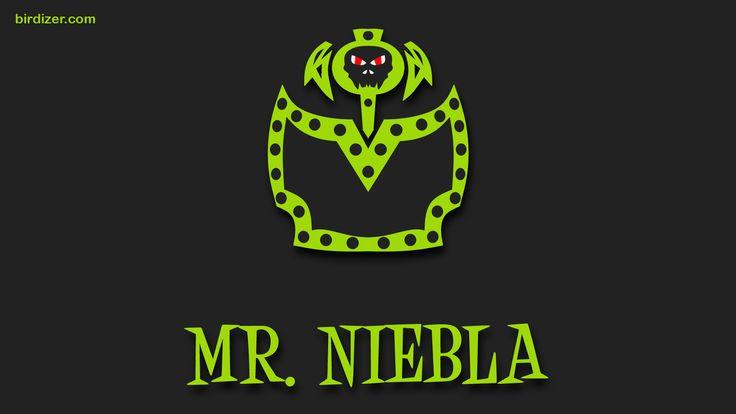 Mr. Niebla máscara wallpaper