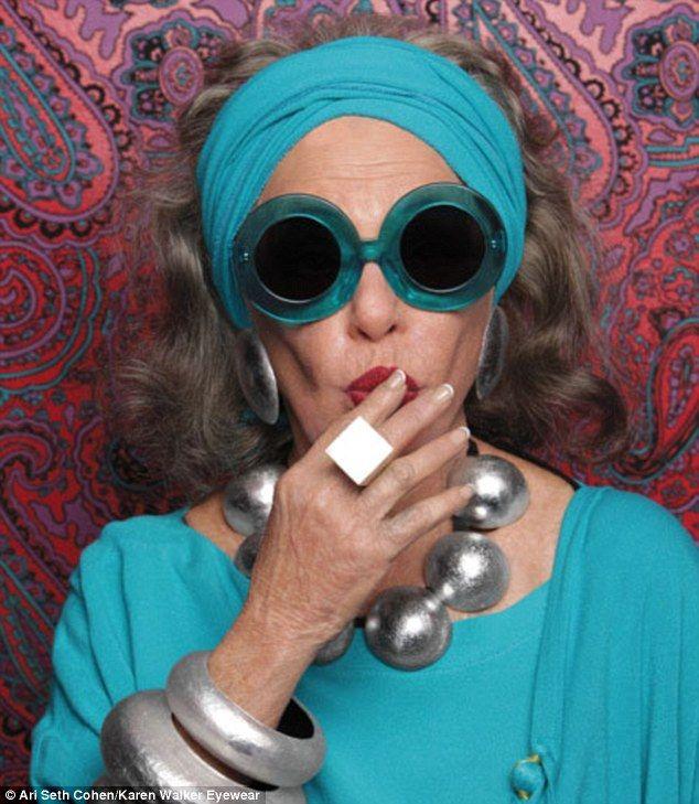 Shades of... anything but gray: Designer Karen Walker casts ...