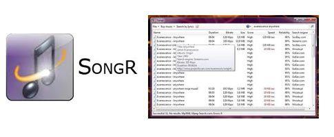 Songr - Programas para descargar musica gratis