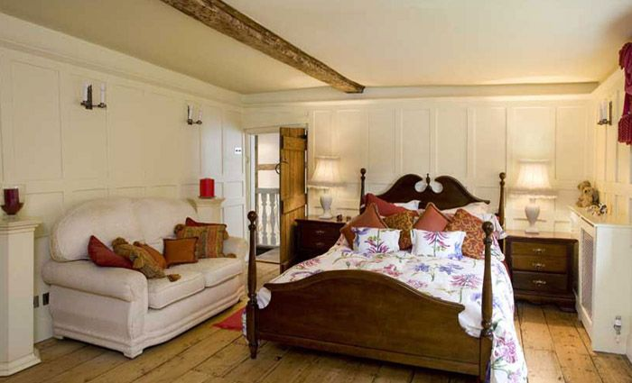 ronovated antique bedroom
