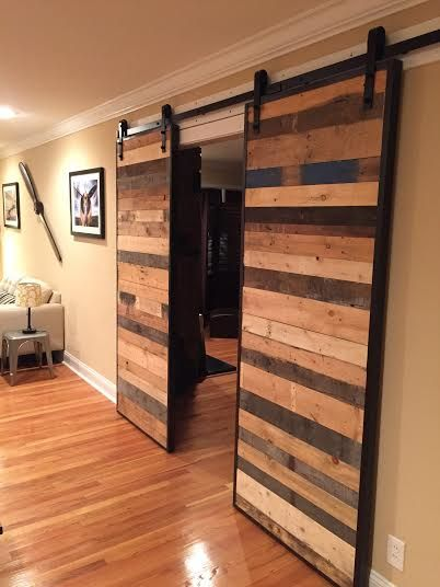best Custom Barn Doors  on Pinterest