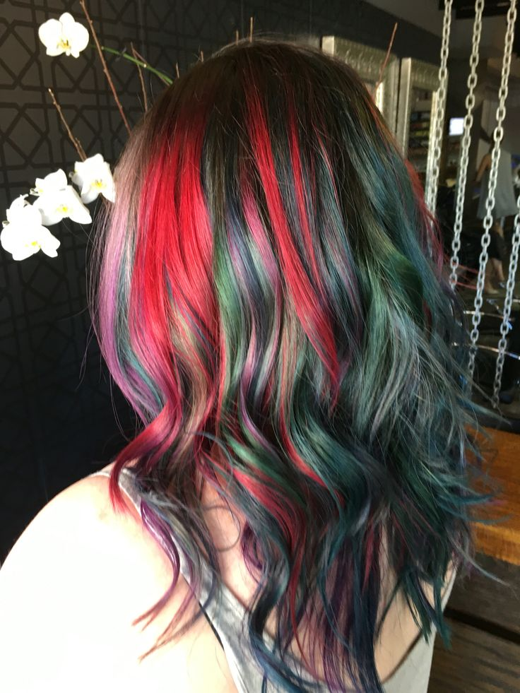 Colour by George cut and stile by Johnny