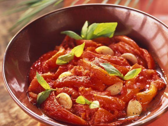 Tomaten-Paprika-Pfanne auf algerische Art ist ein Rezept mit frischen Zutaten aus der Kategorie Fruchtgemüse. Probieren Sie dieses und weitere Rezepte von EAT SMARTER!