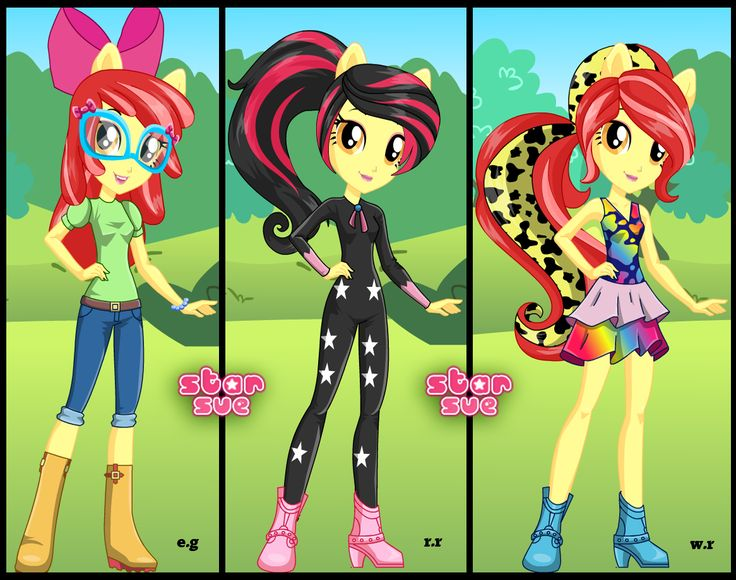 My Little Pony Equestria Girl Dress Up Games – Dress Inspiration ...