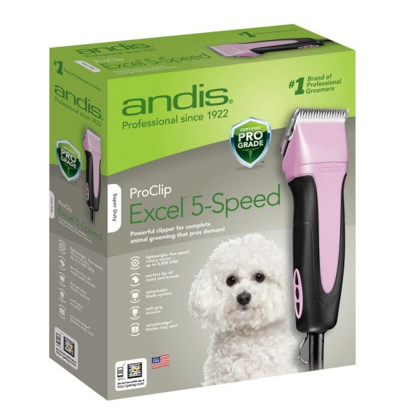 Andis Dog Clippers- I bought these for clipping Luca. They do a fantastic job and are very quiet too.