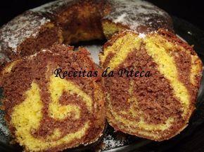 Receita Bolo mármore de laranja e chocolate de Receitasdapiteca - Petitchef