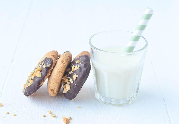 Een lekker recept voor chocolade pindakaas koekjes. Chocolade en pindakaas zijn de perfecte combinatie. Ik hou er van!