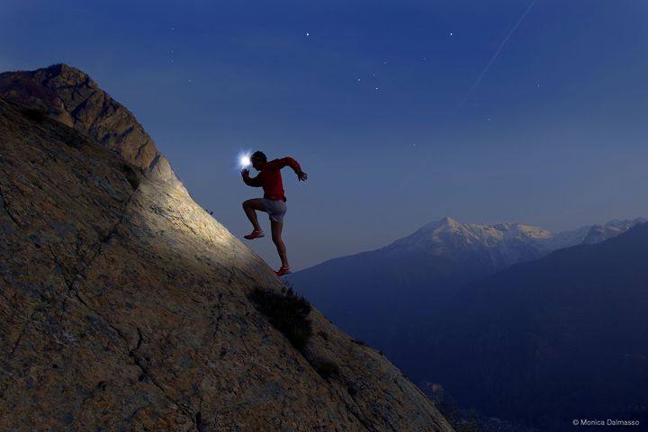 Kilian Jornet trail #running at night - photo #Running #TrailRunning #Outdoors #Explore #Freedom #Cotswoldoutdoor http://www.cotswoldoutdoor.com/be/browse-by-activity/trail-running