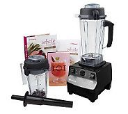 Vitamix 5000 Variable Speed Blending System w/Dry Container & Recipe Books - K34110