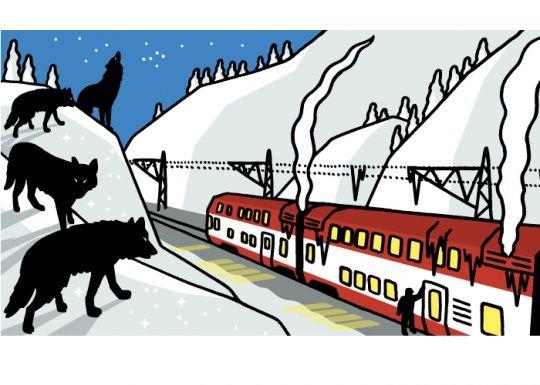 Illustration by Jukka Pylväs for Helsingin Sanomat, 2010