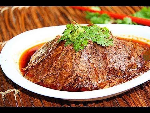 田园时光美食  夫妻肺片Chinese chili sauce braised beef(中文版) - YouTube
