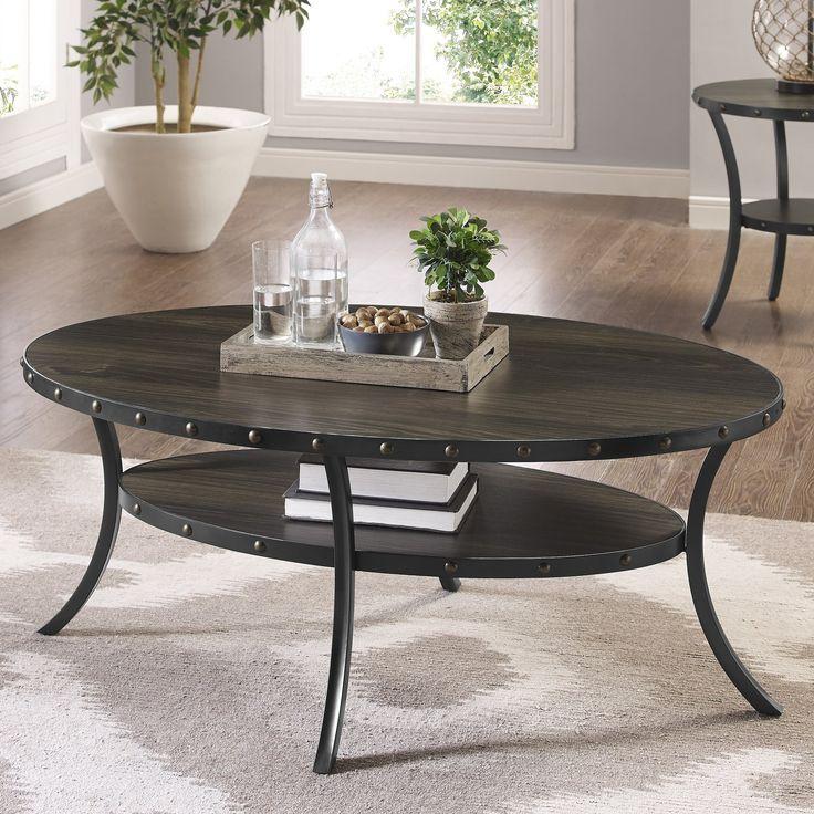 Raquel Espresso Coffee Table